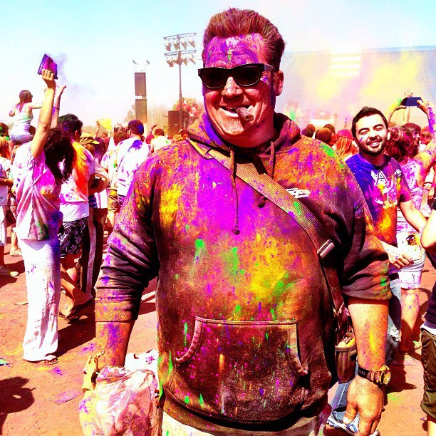 ME at Festival of Colors